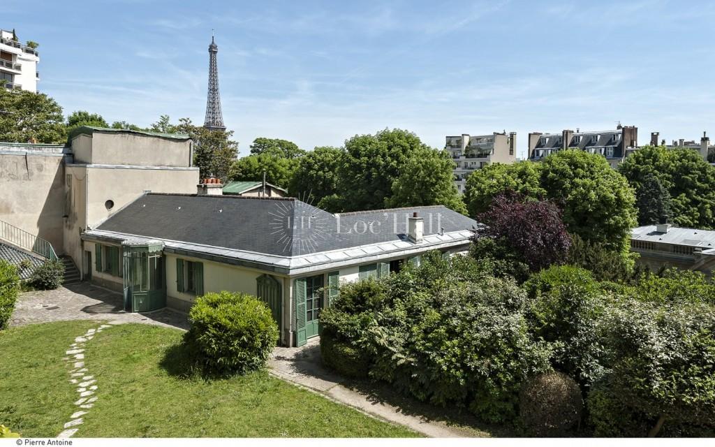Location de la Maison de Balzac et Privatisation des jardins avec Loc'Hall