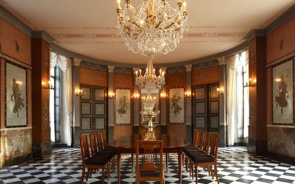 Privatisation du château Malmaison pour des banquets