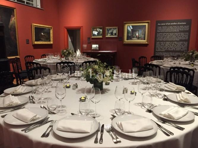 Location du Musée de la Vie Romantique pour des diners