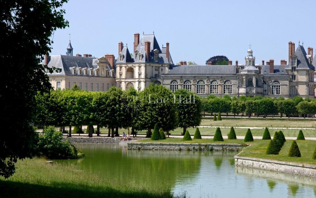 Chateau de fontainebleau Grand Parterre