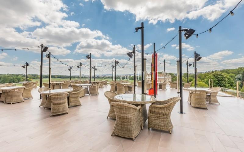 Hippodrome Paris Longchamp Terrasse du Panorama