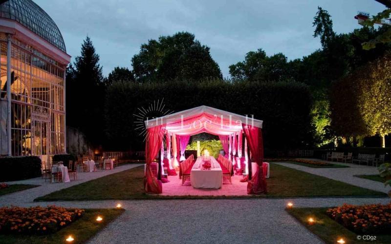 Privatisation du jardin Albert-Kahn pour événements