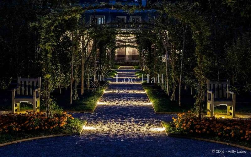 Privatisation du jardin Albert-Kahn pour soirée