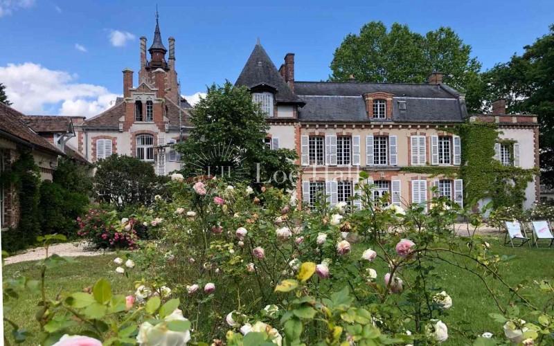 chateau rosa bonheur parc arriere
