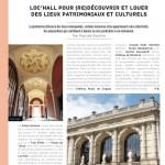 Article presse Loc'Hall dans l'Evénementiel