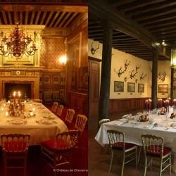 Chateau de Cheverny privatisation pour diner