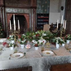 Diner au Donjon Moret