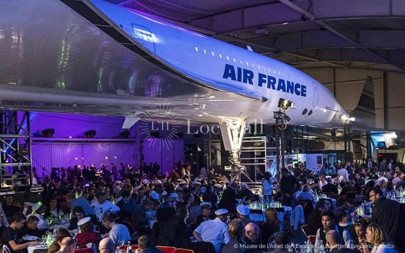 Privatisez le Musée de l'air et de l'espace pour faire décoller vos événements !