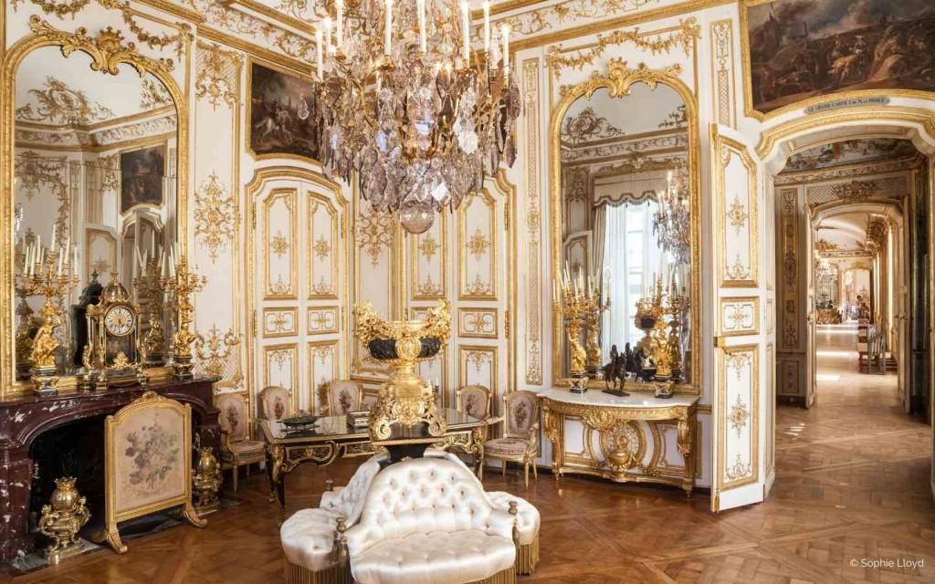 Privatisation du Chateau de Chantilly pour réception