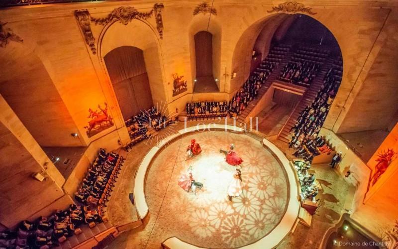 Privatisation des Grandes Ecuries de Chantilly pour vos soirées de gala