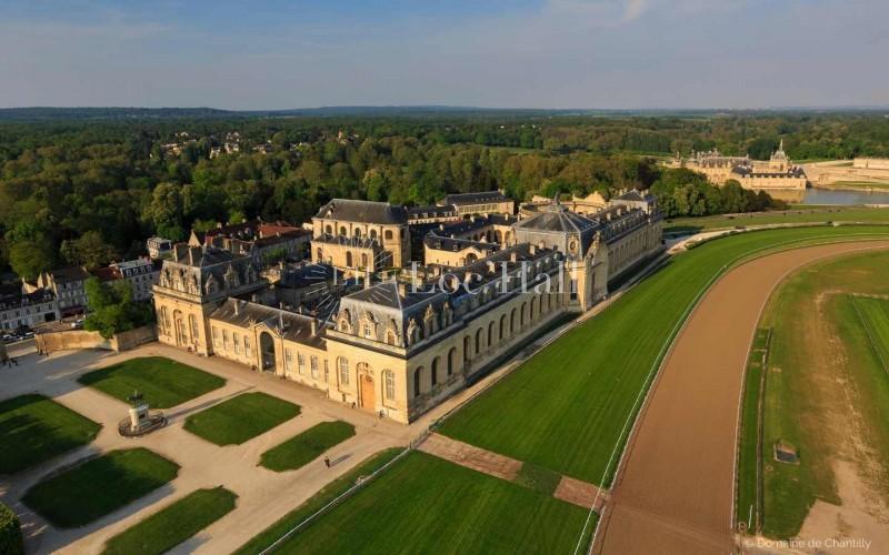 Location des Grandes Ecuries du domaine de Chantilly