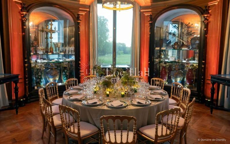 Privatisation du Chateau de Chantilly pour repas d'affaires