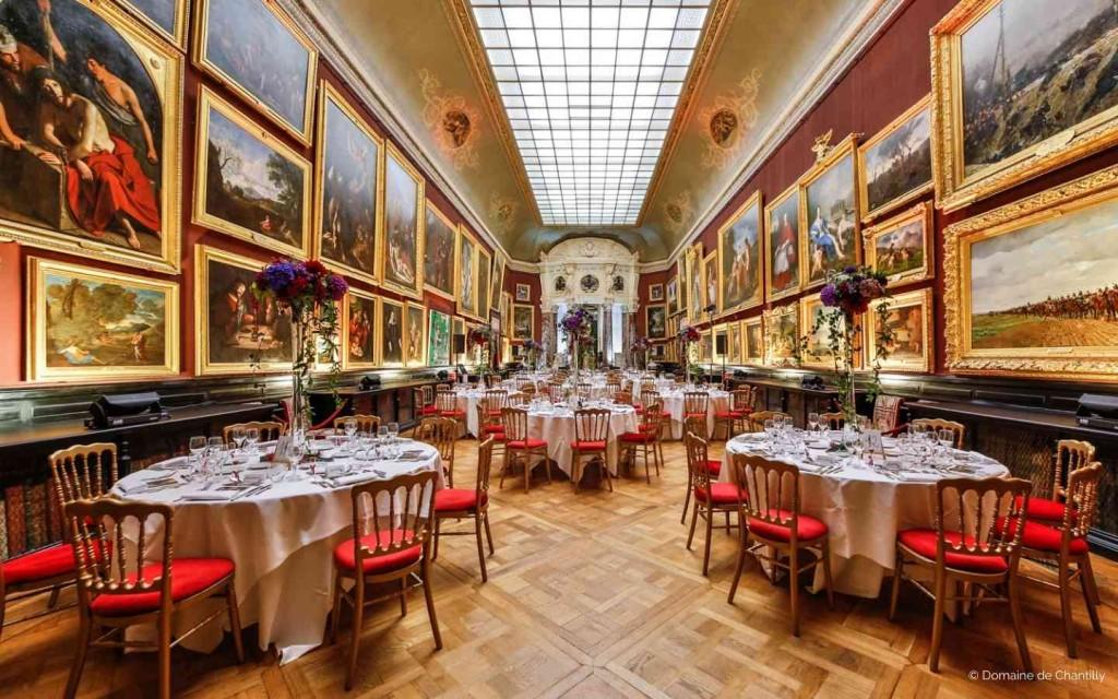 Privatisation du Château de Chantilly pour vos réceptions