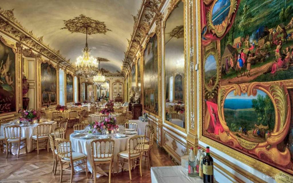 Privatisation du Chateau de Chantilly pour diner de prestige