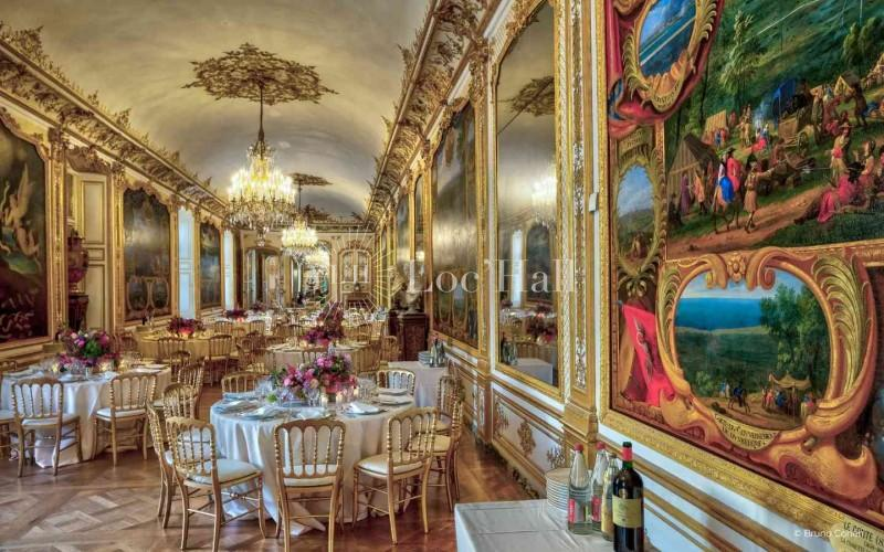 Privatisation du Chateau de Chantilly pour diner de prestige