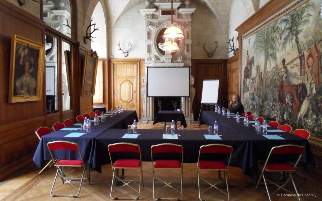 Privatisation du Chateau de Chantilly pour réunions