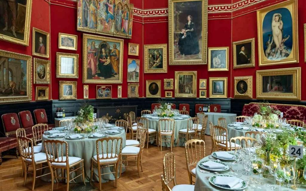 Privatisation du Chateau de Chantilly pour diner de gala