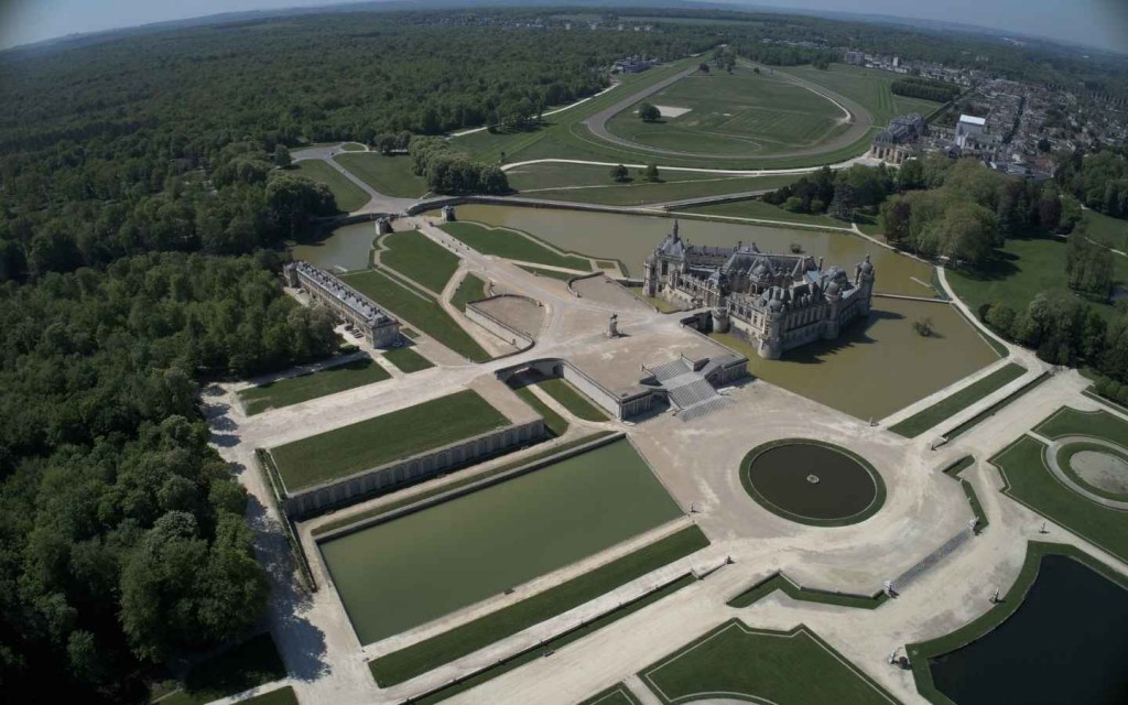 Privatisation du Parc du Chateau de Chantilly pour vos réceptions B to B