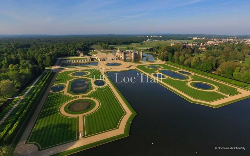 Privatisation du Parc du Chateau de Chantilly pour vos réceptions