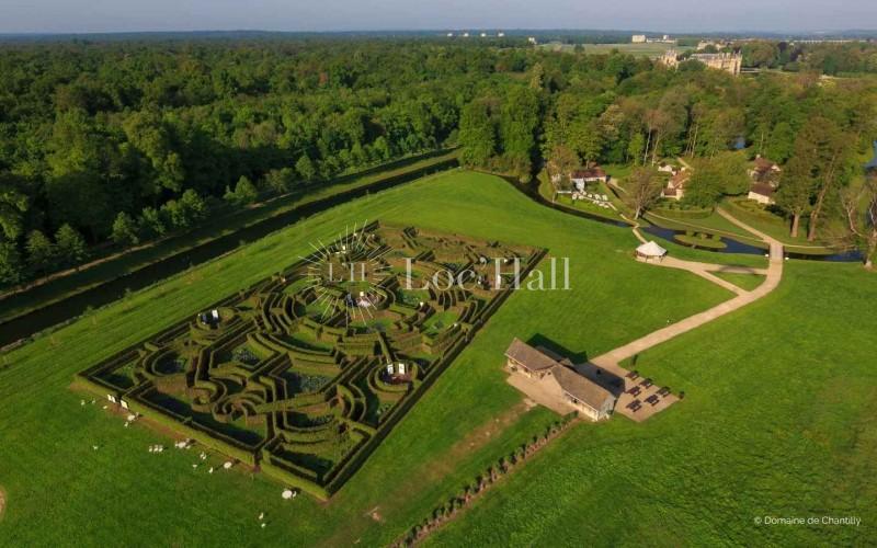 Privatisation du Parc du Chateau de Chantilly pour vos évènements B to B