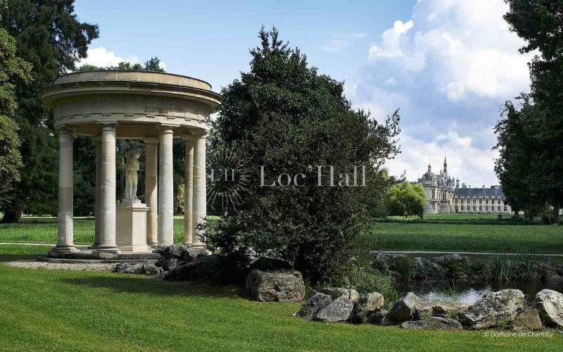Privatisation du Parc du Chateau de Chantilly pour vos évènements