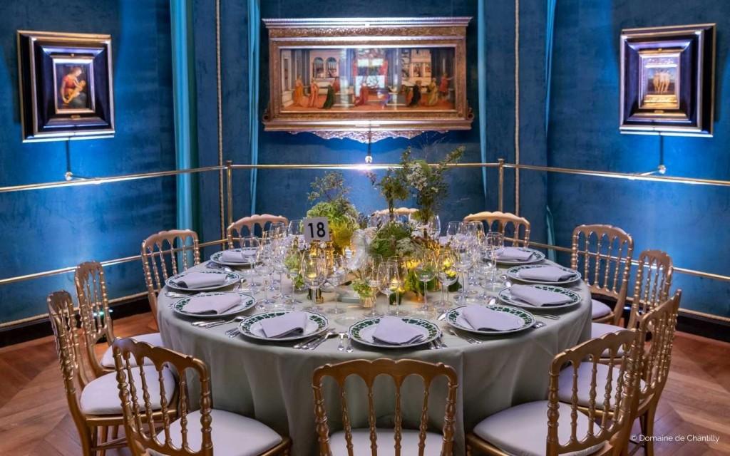 Privatisation du Chateau de Chantilly pour réception B to B
