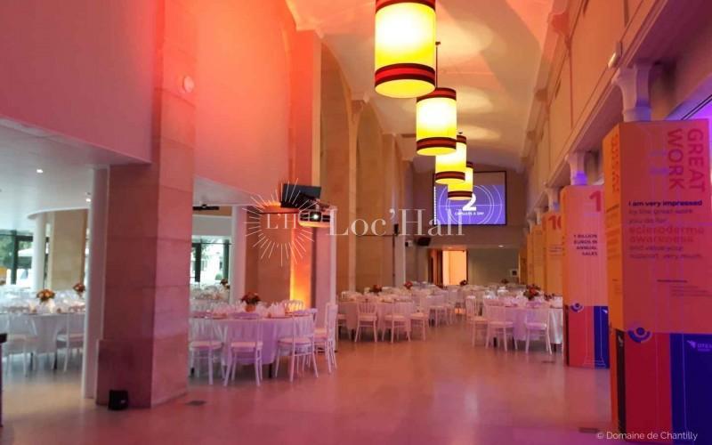 Privatisation de l'Hippodrome du domaine de Chantilly pour soirée de gala
